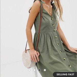 Vintage Directions Maxi Button Dress